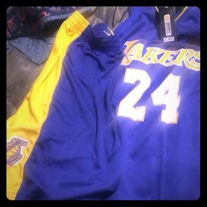 Basketball laker #24 outfit